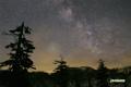 湿原の星空