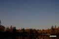 月明かりの神仙沼と星空