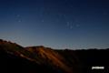 十五夜前夜~羊蹄山山頂と冬の大三角