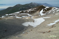 イワオヌプリ山頂付近とニセコ連峰西部