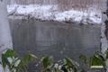 尻別川と新雪