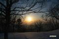 羊蹄山~夕陽