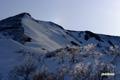霧氷とニセコアンヌプリ