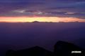 日の出前~ニセコ連峰・羊蹄山