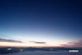 夜明け前の東空