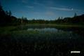 月夜の神仙沼~金星