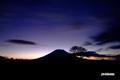 羊蹄山~夜明け前