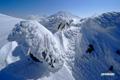 イワオヌプリの雪景色