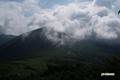 チセヌプリと雲