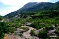 硫黄川とイワオヌプリ