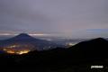 羊蹄山とニセコアンヌプリ南峰