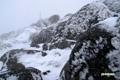 羊蹄山~雪の山頂