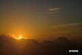 朝陽・羊蹄山