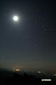 月と冬の大三角