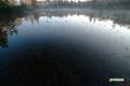 朝陽けの神仙沼