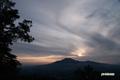 夕陽とニセコアンヌプリ
