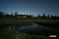 月夜の湿原~北斗七星