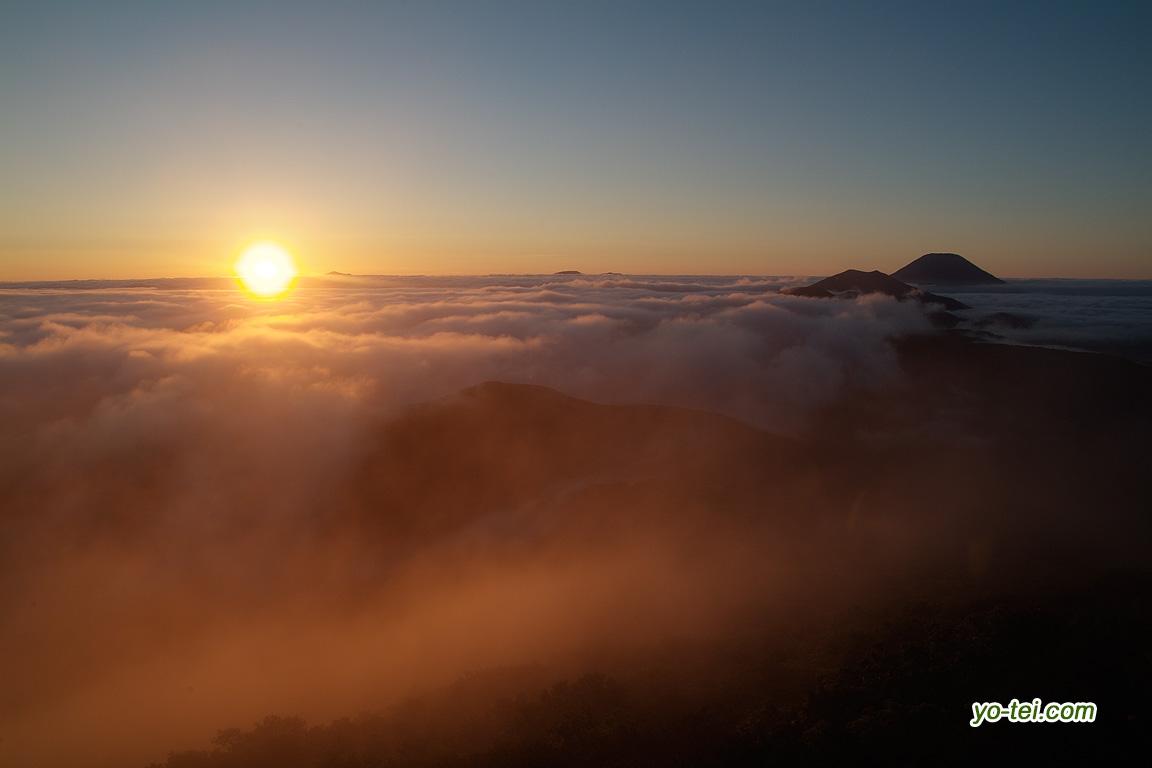 日の出~羊蹄山・ニセコ連峰
