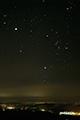 冬の大三角・木星