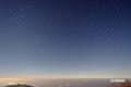月夜の北天