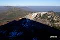 ニセコ連峰とニセコアンヌプリの影