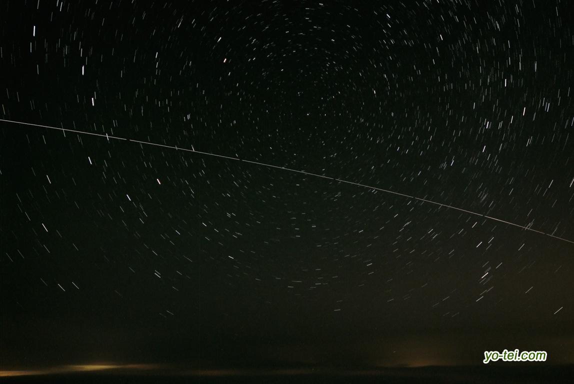 ISSと北天の星座