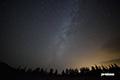 湿原の星空~天の川