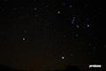 湿原の星空~冬の大三角