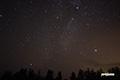 湿原の星空~夏の大三角