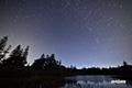 神仙沼と北の星空