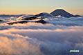 雲海~ニセコ連峰・羊蹄山