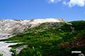 イワオヌプリ山頂部