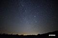 ペルセウス座流星群の輻射点(放射点)