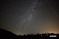 人工衛星の光跡
