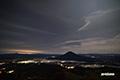月明かりの星空~羊蹄山