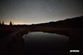 池塘のオリオン・天上の星