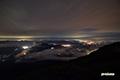 羊蹄山からの夜景~喜茂別・留寿都・洞爺湖