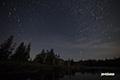 月夜の神仙沼