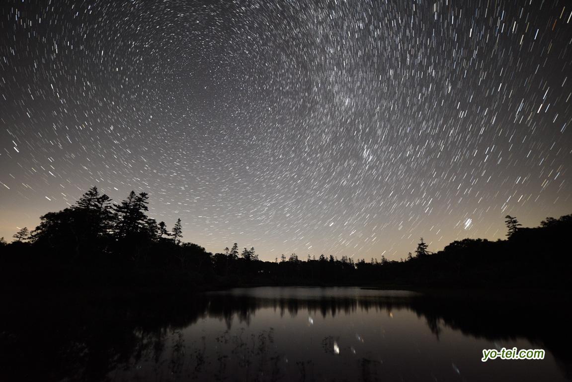 神仙沼の星空